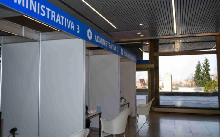 Metropolitní očkovací centrum má za sebou úspěšný testovací provoz. V úterý 6. dubna začne očkování naplno