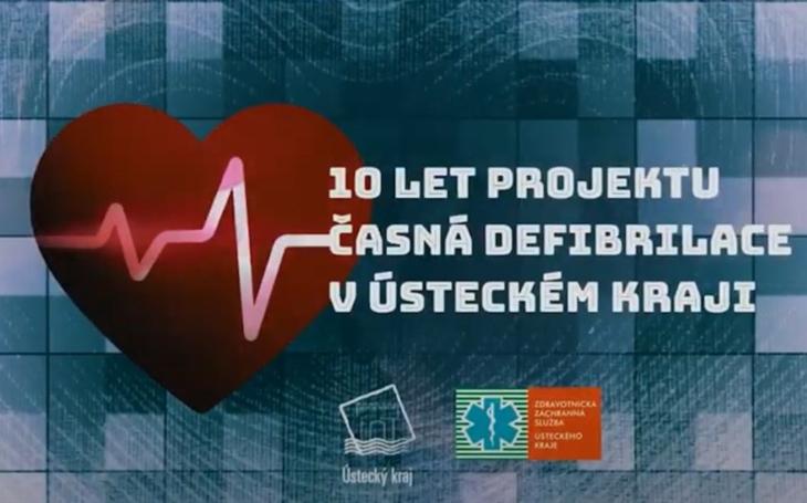 Projekt Časná defibrilace v Ústeckém kraji již deset let zachraňuje životy