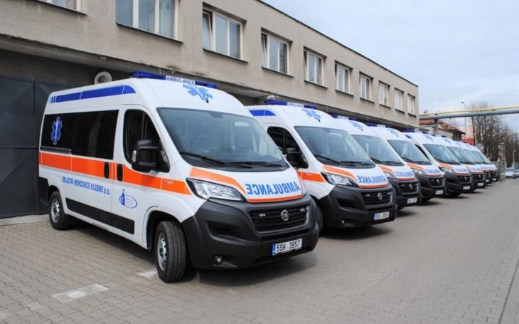 ON Kladno: Nové sanitky FIAT pro přepravu pacientů