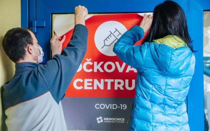 KNTB Zlín: Přípravy velkokapacitního očkovacího centra vrcholí, v pondělí se otevírá v prostorách PSG arény