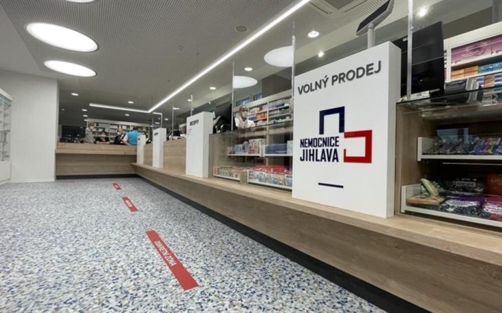 Nemocnice Jihlava: Lékárna v nemocnici se otevřela po opravách veřejnosti