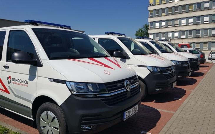 KNTB Zlín: Do provozu nasazeny čtyři nové sanitky