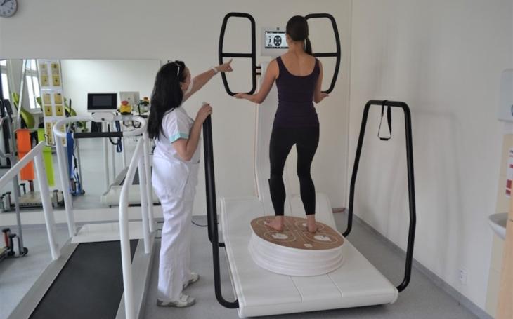 Prostějovská nemocnice AGEL: Při rehabilitacích pacienti využívají také virtuální realitu. Investice přesáhla 20 milionů korun