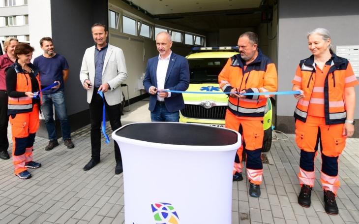 Jihočeský kraj: Sanity záchranky nově startují také z Veselí nad Lužnicí. Na pomoc pacientům exponované rekreační oblasti