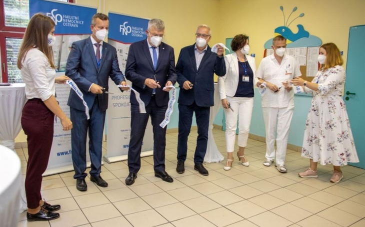 FN Ostrava: Centrum provázení slaví první narozeniny novými prostory
