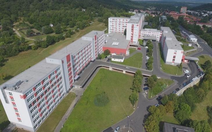 Představenstvo Krajské zdravotní navštívilo nemocnici v Mostě