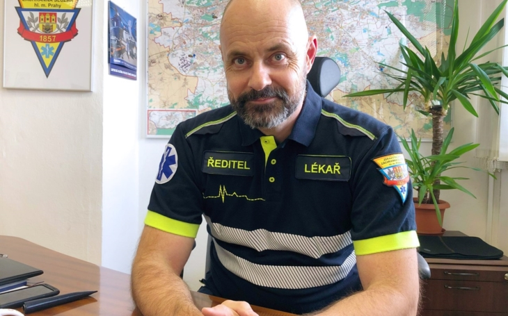 PRAHA: Ředitel ZZS HMP MUDr. Petr Kolouch: Na své kolegy jsem hrdý!