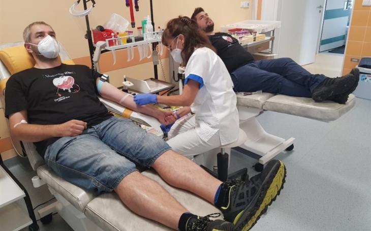 KNTB Zlín: I díky spolupráci se společností VITAR přišlo v srpnu hodně dárců krve