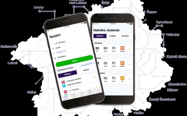 Nová mobilní aplikace PID Lítačka