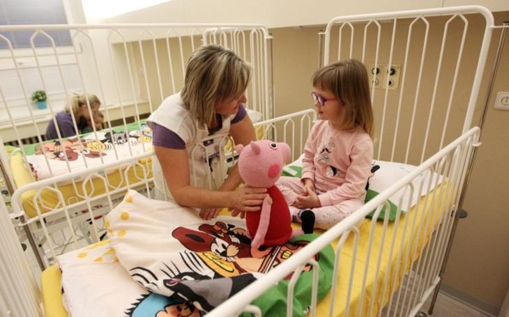 Nemocnice Jihlava: Pro děti se otevřel pokoj s krtečkem