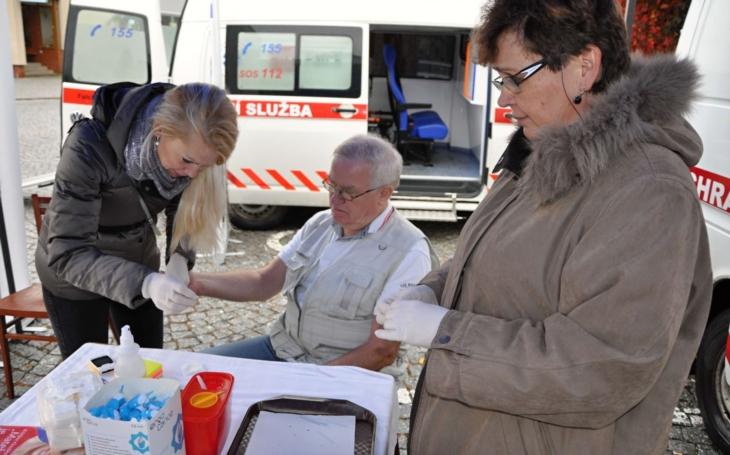 Nemocnice Rudolfa a Stefanie Benešov opět ordinovala na náměstí v Sázavě