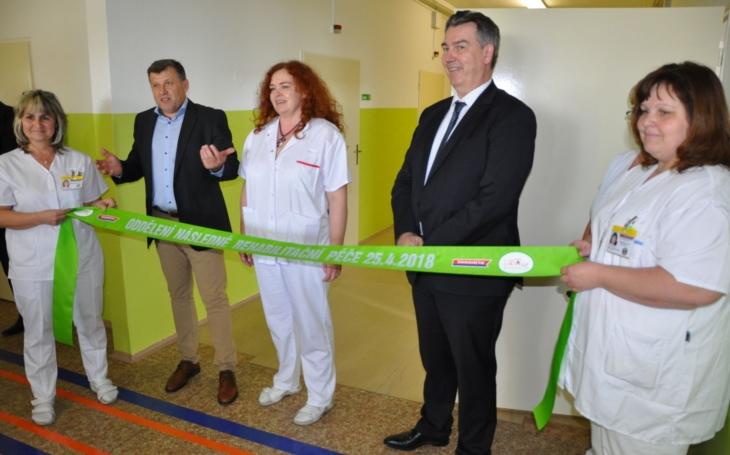 Nemocnice Rudolfa a Stefanie Benešov, a.s. nemocnice Středočeského kraje Benešovská nemocnice otevřela lůžkové oddělení následné rehabilitační péče